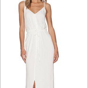 Paige Lyssa White Maxi Dress